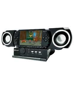 PSP Slim and Lite Speaker Dock - Black - £7.99 @ Argos