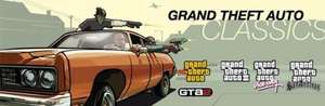 75% discount on bundle of GTA 1, 2, 3, SA and VC £4.99 on Steam (PC)