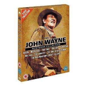 The John Wayne Westerns Collection (DVD) (9 Disc) - £12.99 @ Amazon & Play