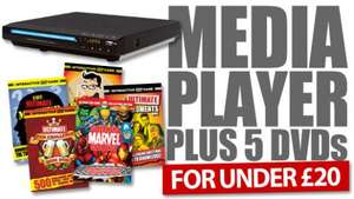 Home Media Device & Five DVDs Offer - £23.98 Delivered @ News of The World (Online)