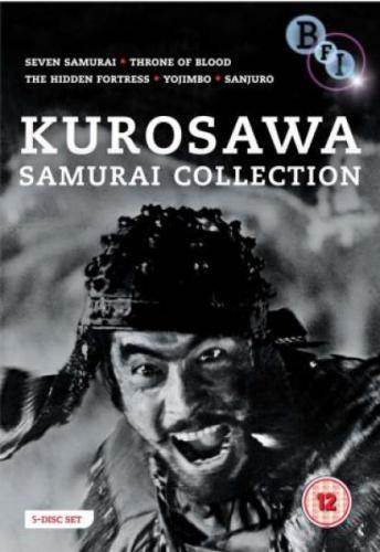 Akira Kurosawa: The Samurai Collection (DVD) (5 Disc) - £8.85 @ Zavvi