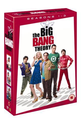 The Big Bang Theory: Seasons 1-3 Box Set (DVD) - £17.99 @ Play