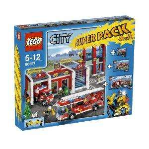 Lego City 66357: Fire Station Super Pack 4 in 1 - £40 @ Amazon