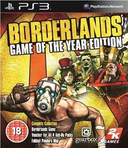 Borderlands: Game of the Year Edition (Xbox 360) (PS3) Dispatched in 24 hours - £12.89 + £1.99 Postage @ Sendit