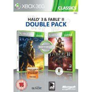 Halo 3 & Fable II Double Pack (Classic) (Xbox 360) - £12.99 @ Amazon