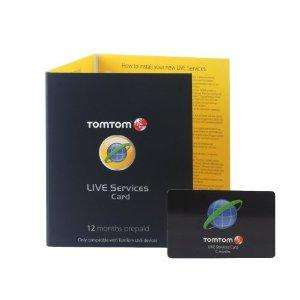 TomTom Live Services 12 Month Subscription - £29.99 @ Amazon
