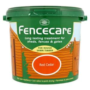 Fence and Shed paint - 2 for £10 @ Wilkinson
