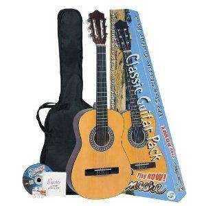 Encore ENC12OFT Natural Wood Half Size Classic Guitar Outfit - £28.70 @ Amazon