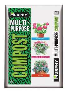 Murphy Multi-Purpose Compost 50 Litres 3 for £10 at Greenhouse Garden Centre, North London