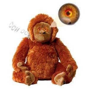 """Animal Planet 12""""  Wild Eyes Orangutan With DVD or Animal Planet 18"""" Wild Eyes Grey Elephant - £12.98 Delivered @ eBay Argos Outlet"""