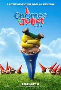 Gnomeo & Juliet Kids AM from 29th April - £1 @ Vue Cinemas