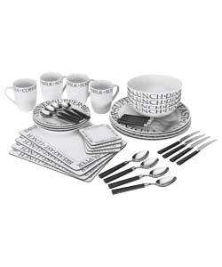 40 Piece Script Dinner Set £22.49 @ Argos
