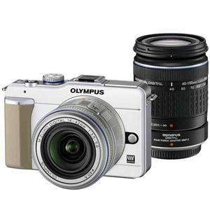 Olympus E-PL1 + 14-42mm and 40-150mm lenses and a four thirds Adaptor - £449.95 @ Jessops