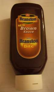 Branston Brown Sauce (730g) with Branston Bite 1p @ Tesco Instore