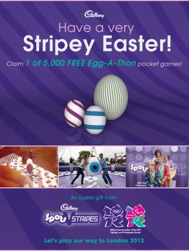 Free Cadbury Easter Egg-A-Thon Pocket Games @ Facebook