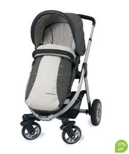 Mothercare Xcursion Pushchair Travel System (Khaki Twill) - £240.50 (with code) @ Mothercare