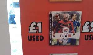 FIFA 10 (PS3) (Pre-owned) - £1 @ Grainger Games (Instore)