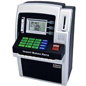 Science Museum Mini ATM Bank - was £19.99 now £9.99 @ Argos