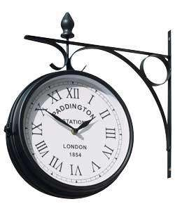 Paddington Outdoor Clock @ Argos for £13.49