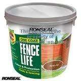 Ronseal onecoat fence paint 6ltr for the price of 5ltr £6,99 each or 2 for £10.00 @ Boyes