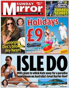 Sunday newspaper offers - see post - Express/ Star/ Telegraph/ NOTW/ Mirrror/ Mail
