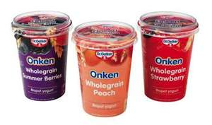 Onken Yogurt Pots 39p at Heron