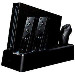 Duracell Charging Stand - Black (Wii) - £17.49 @ Amazon