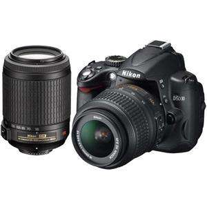 Nikon D5000 18-55 and 55-200mm VR Twin Lens Kit - £499 @ Jessops