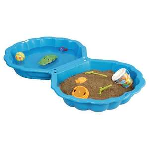 Blue Clam Shell Sandpit - £10 @ Tesco Direct