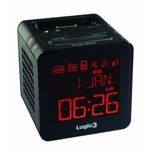 Logic3 i-Station TimeCube Clock Radio for iPhone/iPod (Black) - £19.99 @ Amazon