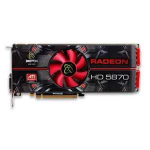 1GB XFX HD 5870, GPU 850MHz, 1600 Cores, HDMI - £137.99 @ Scan (Today Only)