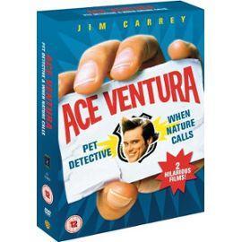 2 Film Box Set: Ace Ventura Pet Detective / Ace Ventura When Nature Calls (DVD) - £2.99 @ Bee
