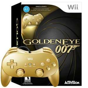 Goldeneye 007 Collector's Edition (Includes Gold Controller) (Wii) - £26.90 + £2.03 Postage @ Amazon Sold by The Game Collection