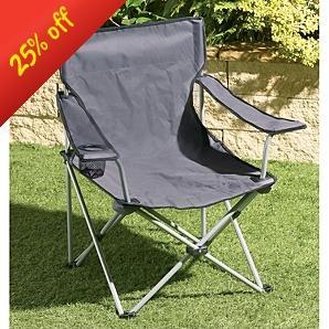 2 x Folding Chair / Garden / Camping Chair £10.00 @ Asda instore