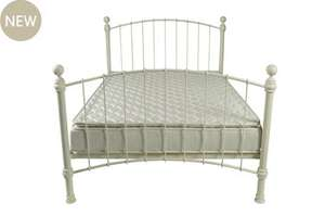 King Size Laura Ashley Bed with Mattress ONLY £378.00 (SAVE £672.00) 60% + 10% off!
