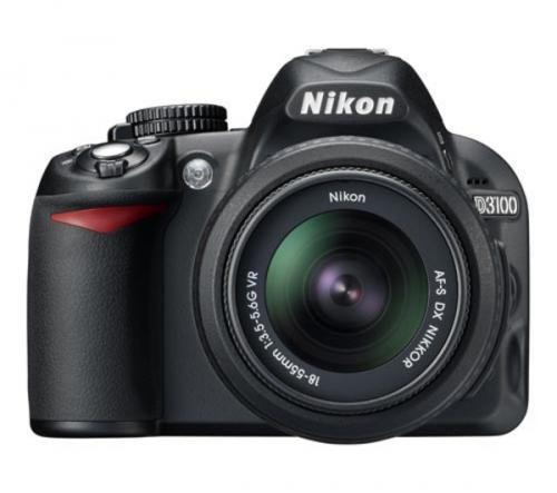 Nikon D3100 Digital SLR + 18-55mm Zoom - £394 (with code) @ Dixons (+ £40 Nikon Cashback + Quidco/TCB = possible £334.10)