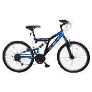 "Vertigo Rockface 24"" Boys Dual Suspension Bike - Half Price - £80 @ Tesco Direct"