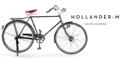 Hollander - M Bike, Metallic Black - £179 @ Made.com