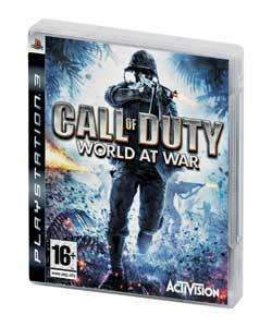 Call of Duty 5: World at War (PS3) (Pre-owned) - £7.99 Delivered @ Argos