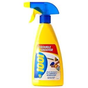 """1001 carpet cleaning products including """"trouble shooter""""@poundland"""