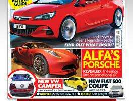 Free issue of Auto Express magazine