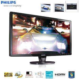 "Philips Elegant 24"" Full HD Monitor with HDMI, Built-in Audio and Smart Contrast - £124.90 Delivered @ iBOOD"