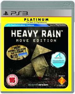 Heavy Rain (Move Compatible) (Platinum) (PS3) - £12.89 + £1.99 Postage @ Sendit