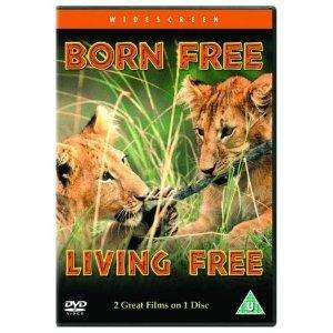 2 Film Box Set: Born Free / Living Free (1966) (DVD) - £3.29 @ Play & Amazon