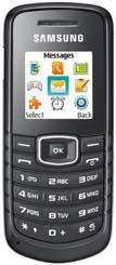 Samsung E1080 (PAYG) - £0.01 + £10 Top Up @ Mobiles.co.uk (+ £6 Quidco)