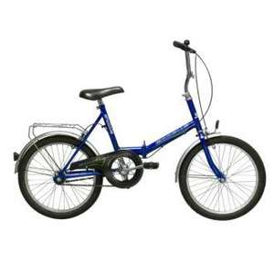 Emmelle Shuttle Folding Bike - was £114.99 now £76.65 Delivered @ Sainsburys (+ 5% Quidco)