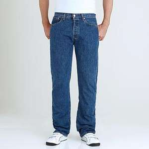 Levi 501 Jeans from £42.50 Delivered (with code) @ Debenhams (+ Quidco)