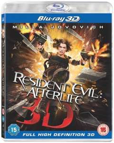 Resident Evil Afterlife 3D (Blu-ray) - £12 @ Asda (Instore)