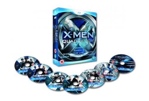 X-Men Quadrilogy (7 Disc Blu-ray Box Set) - £15.85 delivered @ The Hut