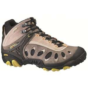 Merrell Men's Chameleon3 Ventilator Mid GTX Trainer - 50% off - Now £62.50 @ Outdoor Kit